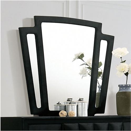 CARISSA Imprad Transitional Black Velvet Mirror