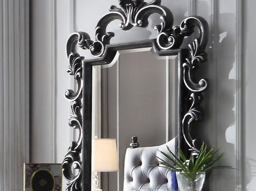 House Delphnie All Traditional Charcoal with Silver Trim Mirror