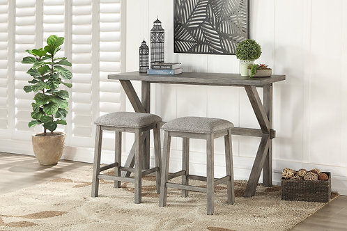 Palmer Henry Counter Height Table + 2 Stools