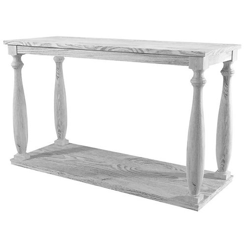 ARLINGTON Imprad Rustic Antique White Sofa Table