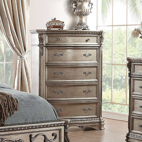 Northville All Chest Antique Silver