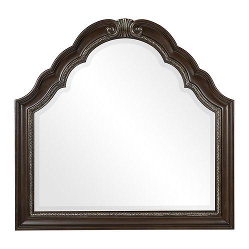 Henry Beddington Dark Cherry Traditional Mirror