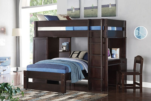 Lars All Loft Bed w/Twin Bed