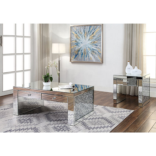 Noralie All 81475 Mirrored Coffee Table