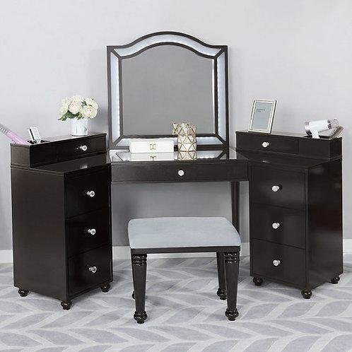 Tracie Imprad Obsidian Grey Vanity Set