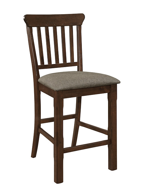 Schleiger Henry Brown Counter Height Chair