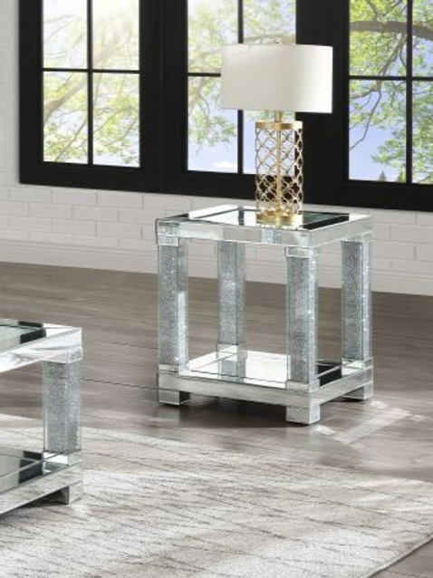 Noralie All 87997 Mirrored End Table