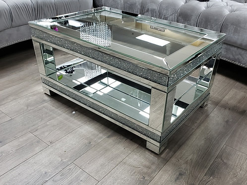 Noralie All 88020 Mirrored Coffee Table