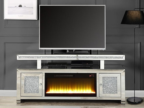All Noralie TV Stand w/Fireplace-LV00523