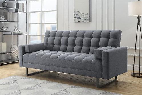 All LIMOSA 58260 Gray Linen Adjustable Sofa