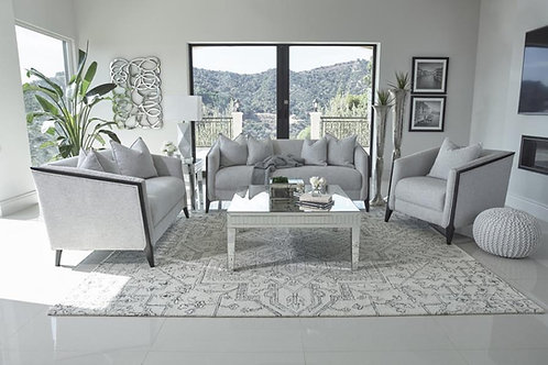 Whitfield Cali Grey Chenille Sofa