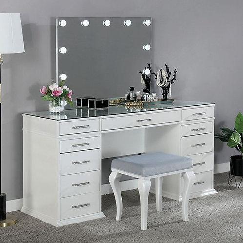Valentina Imprad Luminous White Vanity Set