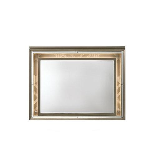 All Skylar Glam, LED Contemporary Dark Champagne Mirror