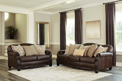 Angel Traditional Leather Embrook Sofa