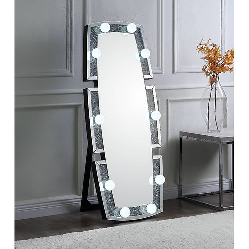 All Noralie Wall Decor - 97759 - Glam - LED Light, Glass Mirror