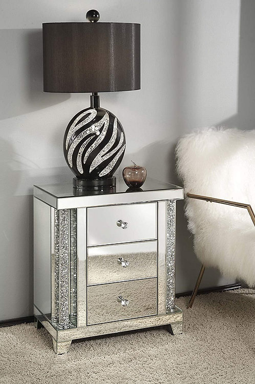 Glam All 82779 Mirrored Stand