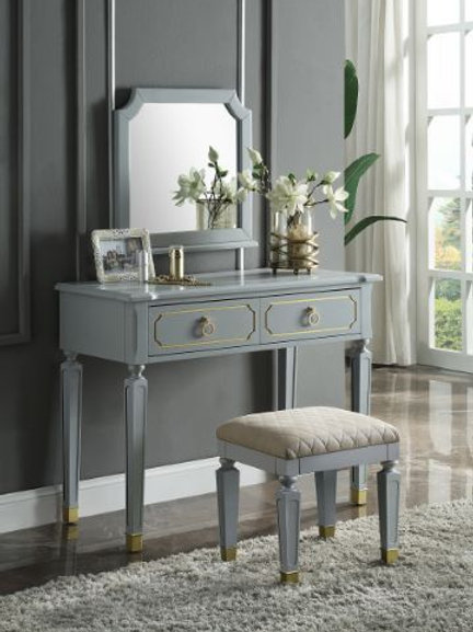 Vanity Desk and Mirror - 28868 All