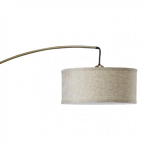 Jess Imprad Antique Gold Marble / Metal Floor Lamp