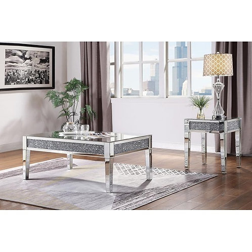 Noralie All 81415 Mirrored Coffee Table