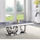 Thumbnail: All Modern Marble Zasir Sofa Table w/Stainless Base
