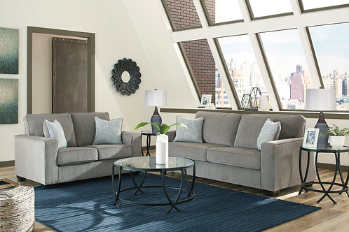 Redlands Angel Gray Contemporary Sofa