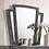 Thumbnail: CARISSA Imprad Transitional Gray Velvet Mirror