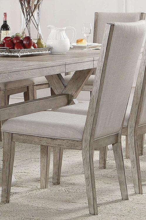 Rocky All Gray Oak Finish Side Chair