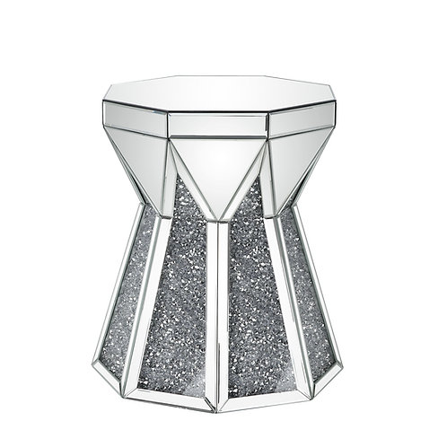 All Noralie End Table - 88062 - Glam Mirrored