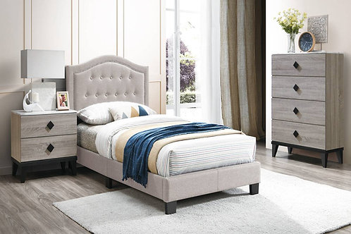 Light Brown Bed Port 9570