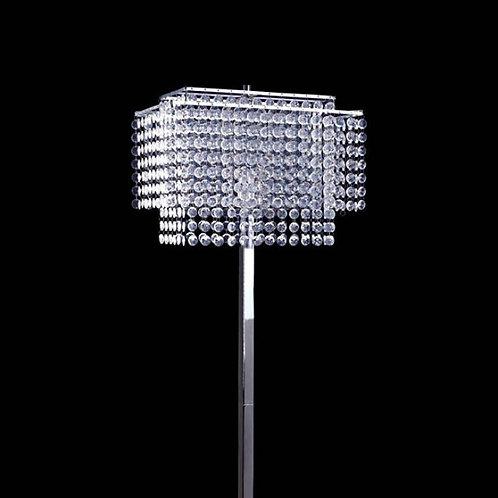 Kit Imprad Clear Metal Floor Lamp