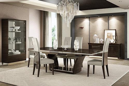 832 Geo Wenge Dining Table Modern