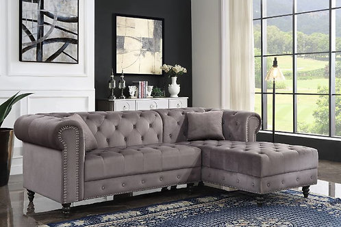 Sectional Sofa w/2 Pillows - 57325 All