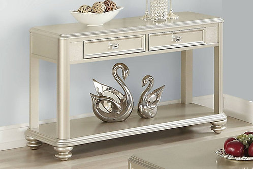 Champagne colored Console Table Port 6371