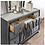 Thumbnail: CARISSA Imprad Transitional Gray Velvet Dresser