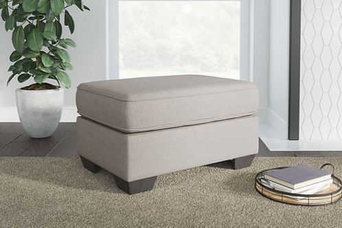 Greaves Angel Stone Fabric Ottoman