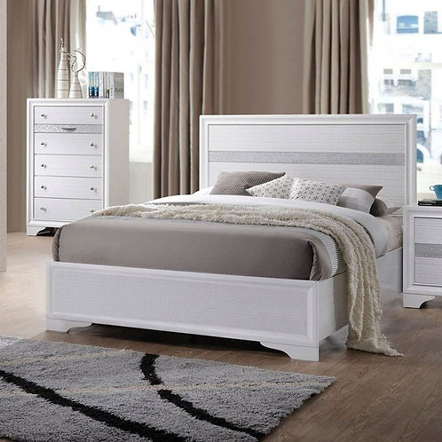 Naima All Bed (No Storage) White