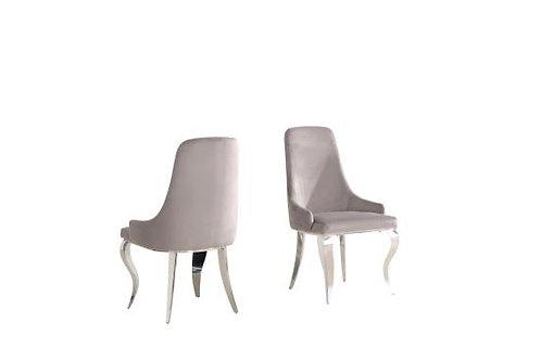 Antoine Cali Grey Side Chair