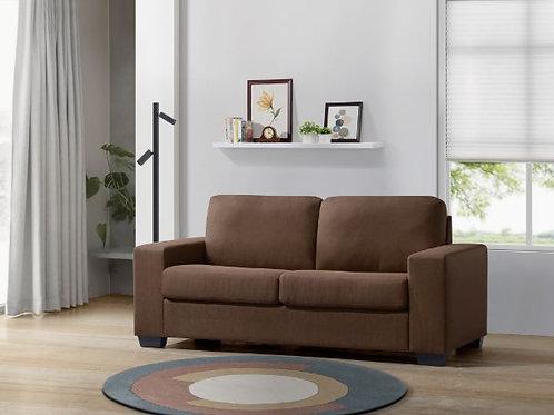 All ZOILOS 57210 Brown Fabric Sleeper Sofa