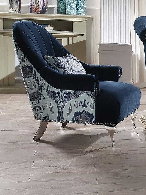 Jaborosa All Blue Velvet Chair