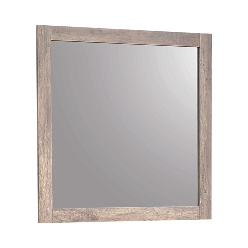 Adelaide Rectangular Mirror Rustic Oak