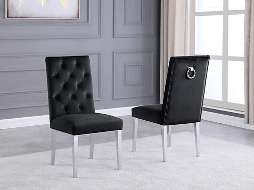 Best Q SC71 Velvet Black Chair