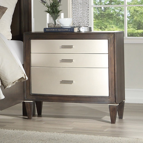 Peregrine All Walnut Finish Nightstand