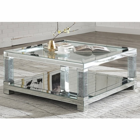 Noralie All 87995 Mirrored Coffee Table