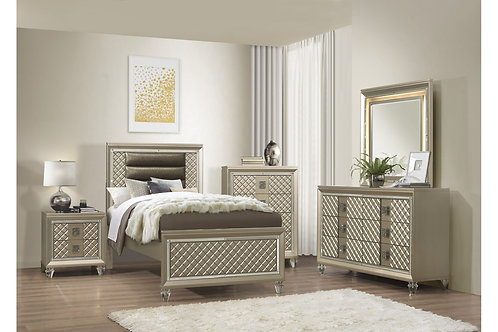 Loudon Henry Champagne Bed
