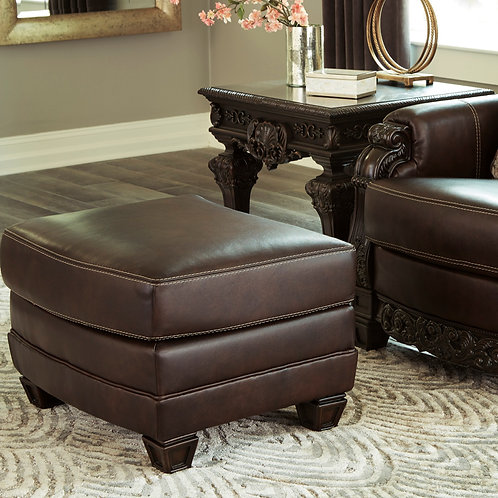 Angel Traditional Leather 325 Ottoman