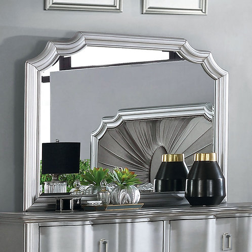 AALOK Imprad Transitional Silver Mirror