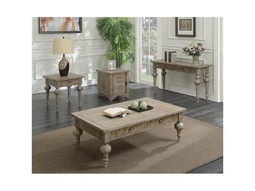 Emeral Interlude Rustic Sandstone Coffee Table