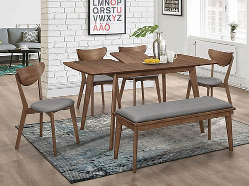 Alfredo Cali Dining Table Mid-Century Modern