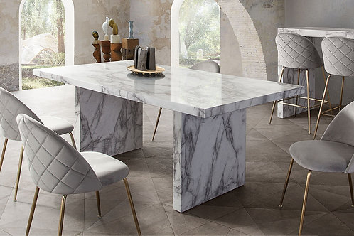 Icon Dream Faux Marble Dining Table