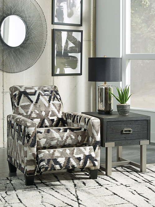 Colleyville Angel Contemporary Smoke Pattern Low Leg Recliner